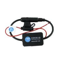 Precio de Car antenna amplifier-S5Q coche Antena amplificador de la señal Apto para todas las frecuencias radioeléctricas En 87.5-108MHz AAAFUQ