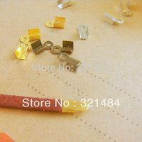 crimp cord end - 3x6mm for mm cord color can pick up Cord end cap cord tips crimp beads jewelry DIY findings accessories
