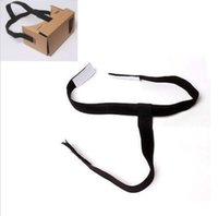 Wholesale Detachable Elastic Adjustable Head Mout Strap Belt for Google Cardboard Virtual Reality VR D Glasses Head Strap