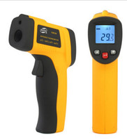Wholesale Benetech GM300 Non Contact LCD Digital Infrared Thermometer Pyrometer Laser Point Temperature Meter Degrees with Retail package