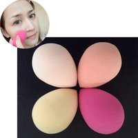 Wholesale High Quality Water Drop Make Up Sponge Non latex Drop Shape Make Up Sponge Foundation Cosmetic Puff Tool