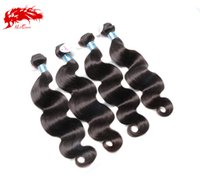 Wholesale Ali Queen Hair Products Peruvian Body Wave Bundles Natural Black Unprocessed Peruvian Body Wave Virgin Hair