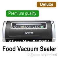 Wholesale Deluxe VS5500 Household Food saver Vacuum Sealer one key automatically intelligent Free Roll bag promotional discount A3