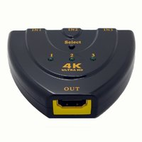 Wholesale HDMI switcher into HDMI into a HDMI switch hub distributor K K