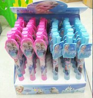 Wholesale 36PIECE New Product Korean wave Box of color children Cartoon Frozen Ballpoint pen Stationery Christmas Party gift