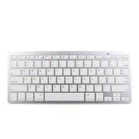 Wholesale Bluetooth Keys Layout Keyboard with LED Cable Free Operation Keyboard for Apple and Windows OS Feet Wireless Distance Hot Sale