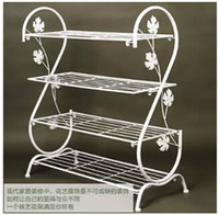 ark shoes - Wrought iron contracted fashion creative dustproof shoe rack S landing shelf Four layers sitting room shoe ark