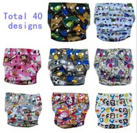 Wholesale New Design Swim Diaper Cover Cloth Pants Reusable Adjustable for baby infant boy girl toddler T Choices All IN ONE