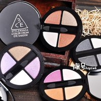 Cheap Wholesale-Korea official 3CE Stylenanda stereo four bright colors eyeshadow shimmer eyeshadow colors smoky eye