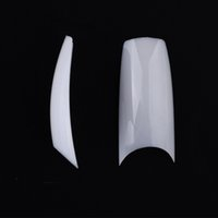 Wholesale 2016 New well less white french nail art U tips Acrylic Nail Tips False Nails False Tips SKU A0016