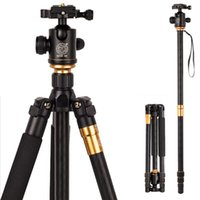 Wholesale Hot Q999 Professional Photographic Portable Tripod To Monopod Ball Head For Digital SLR DSLR Camera Fold cm Max Loading Kg