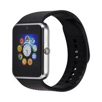 Wholesale Smart Sport Watch GT08 Clock Sync Notifier Support Sim Card Bluetooth Connectivity Android Phone Luxury Smart Watch