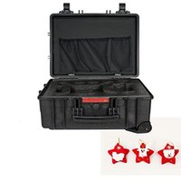 advance wheel - DJI Phantom Professional Advanced Case Waterproof Hard Case With Wheel Bar with Pendant Chrismas Tree Children Gift Toys