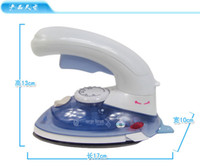 Wholesale New Mini Steam Iron Brush Handheld Dry Cleaning Brush Clothes Trousers Household Electric Travel Portable Garment Steamers