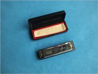 Wholesale The hole harmonica harmonica Taobao export Bruce C silver harmonica learning gifts can be customized