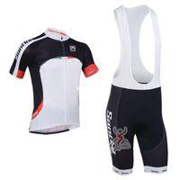 santini - 2013 santini Team Cycling Jersey Cycling Wear Cycling Clothing shorts bib suite santini A