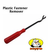 Wholesale 2016 HIPPO Hot Red Plstic Handle Car Door Upholstery Panel Clip universal Remover Tool quot