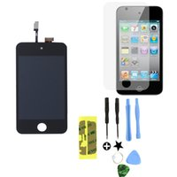 Wholesale For iPod Touch th Gen G LCD Screen Replacement Digitizer Glass Assembly Tools Screen Protector