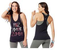 amor vest - new arrival woman vest Paz Amor Tank Back To Black Racerback vest female tops yoga clothes black color