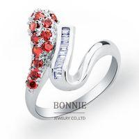 Cheap rhinestone wedding ring Best crystal wedding rings