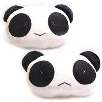 Wholesale Car Neck Pillow Lovely Plush Panda Headrest Pillow Cushion