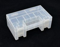 Wholesale 1pcs New AAA AA Battery Storage Holder Hard Plastic Case Box Rack Type A