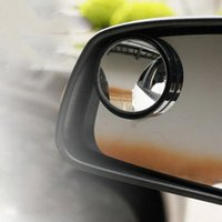 Wholesale 1 Pair Driver Side Wide Angle Round Convex Car Vehicle Mirror Blind Spot Auto Rear View