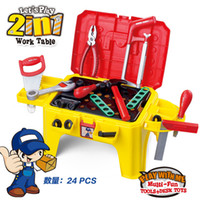 Wholesale Hot Sale Multifunctional Chair Toys Tools Child Birthday Gifts Construction Tools For Play House Tools Kids