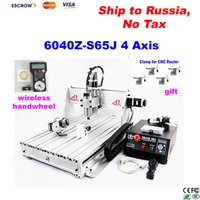 Wholesale Free ship to Russia No Tax Z S65J CNC router w spindle CNC engraver Engraving machine with wireless handwheel and gift