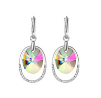 Cheap Made With Swarovski Elements Best Crystal Pendant Dangle Earrings