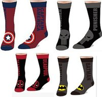 Keep your feet nice, warm, and super-charged with some rocking superhero socks! DC Comics, Marvel, Star Wars, and more. Who needs plain-ol white socks, right?