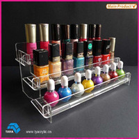 Wholesale Acrylic display stand cosmetics display stand acrylic nail polish crafts custom