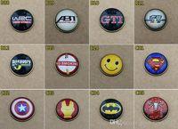 25mm stickers  2016 Wholesale 3D Car Stickers Badges Auto accessories decorative stickers15pcs 25mm Fashion Phone Paste Cartoon Football Team 3D-02-1