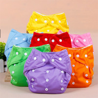 Wholesale Hot Cleanly Healthful Color Diapers Cover Reusable Nappies Changing Adjustable Fraldas Summer Version