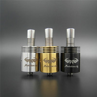 Cheap Mutation X V2 Atomizer E Electronic RDA Atomizer RBA Clearomizer Cigarette E Cigarette RDA Dual Coils Rebuildable Mutation X V2 Tank 4 Color