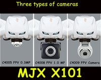 Wholesale MJX X101 rc drone camera spare parts C4008 HD camera C4009 FPV set helicopter camera for MJX X101 drone