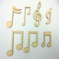 craft embellishments - Deal Music Sols Wood Shapes DIY Craft Laser Cut Craft Embellishment for DIY Decorations Wood Shape Wood Crafts