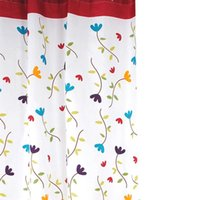 Wholesale Brand new Flower Shower Curtain Waterproof Polyester Thickening Bath Curtain for home