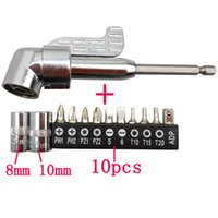 Wholesale Angle screw driver set attachment of power tools