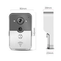 Wholesale WIFI Intercom Video Door phone Rain Proof Motion Detection Video Doorbell Access Control