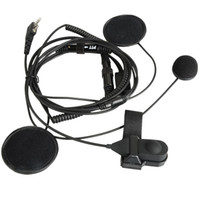 radio earpiece - Full Face Close Helmet Motorcycle Headset Earpiece For Baofeng UV5R Radio VC087 W0 SUP5