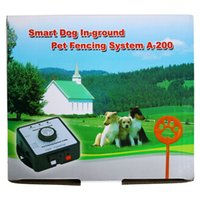 Wholesale Pet dog Fence System a200 pet containment systems A with rechargeable Receiver Smart Dog In Ground Pet Fencing System A