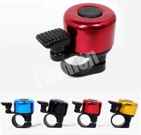 Wholesale Bike Horns Luxury Alarm Bicycle Ring Bell Loud Sound Cycling Sport Aluminum Mini Colorful Bell Factory Direct Free DHL