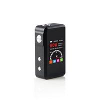 Cheap Newest SMY 60w Mini TC Temperature Control Vapor Mod 60w TC Mini Box Mod With LED Display Screen