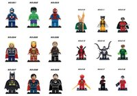 Wholesale Marvel Super Hero Minifigures Classic Toys Building Blocks Sets Model Bricks Decool Figures Avengers Compatible