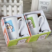 Wholesale A single B116 loaded ceramic cup Mark cup milk cup couples creative coffee shop yuan supply