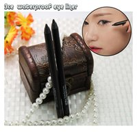 Wholesale Fashion and hot cosmetics Don t dizzy makeup Don t rub off Super waterproof Swimming eyeliner Black and coffee