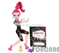 best grants - Genuine Original Monster High dolls Y7709 Wishes series Gigi Grant Doll fashion toys best gift for little girl