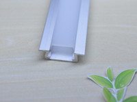 anodized aluminum channel - m a m per pc Led strip aluminium profile with channel cover for led bar light Anodized aluminum channels AP2206
