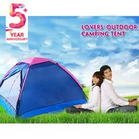 Wholesale Quality large outdoor tent camping for the lover couple person waterproof windproof anti ultraviolet camping equipment